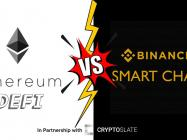 Ethereum vs. Binance Smart Chain: Who wins in a crypto DeFi battle?