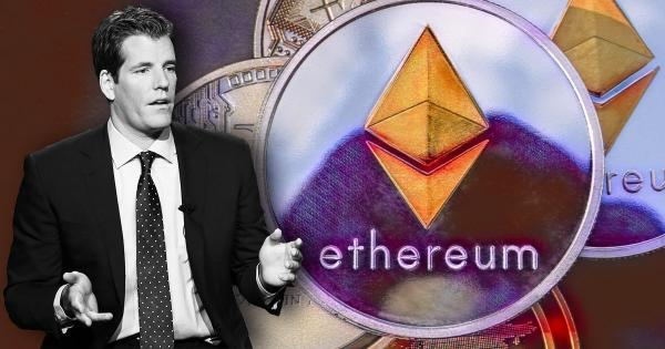 Billionaire Winklevoss: Ethereum is easily the most underpriced crypto