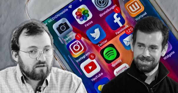 Charles Hoskinson tells Jack Dorsey that Cardano is working on a decentralized social media initiative