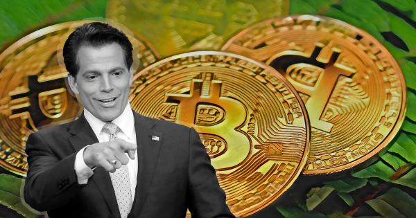 "Anthony Scaramucci says Bitcoin is ""as safe as bonds and gold"" after $310m bet"