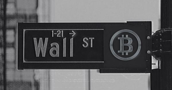 Wall Street investor advises more investors to put a few percent into Bitcoin