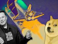 Elon Musk boosts Dogecoin by 76% with a rocket tweet
