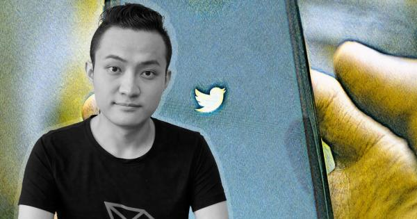 Justin Sun reacts after allegations of Tron (TRX) paying celebrities for tweets