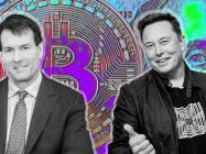 "Elon Musk gets ""congratulated"" by Michael Saylor after Tesla's $1.5 billion Bitcoin splurge"