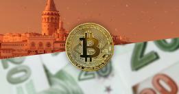 Bitcoin Google searches spike 5x in Turkey, while the Lira falls 15%