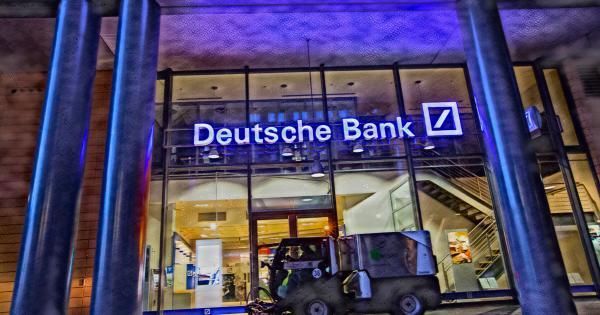 """Deutsche Bank report: """"Bitcoin is too big to ignore"""""""