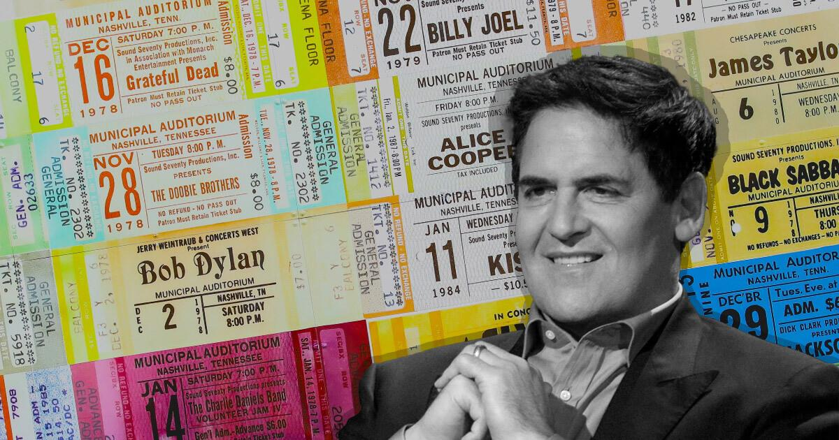 Forget overvalued artwork, Mark Cuban sees NFT ticketing as the mass-market disruptor