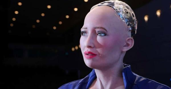 An NFT made by humanoid robot 'Sophia' just sold for $688,000