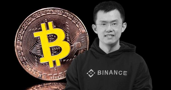 """Binance CEO Changpeng Zhao holds """"close to 100%"""" of his funds in crypto"""
