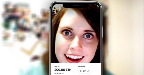 """Popular meme """"Overly attached girlfriend"""" resurfaces with $417,000 NFT auction"""