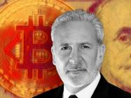 Bitcoin critic Peter Schiff says both the American economy and US dollar are going to crash