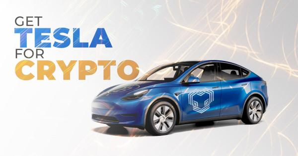 YouHodler is giving away a 2021 Tesla Model Y in honor of Bitcoin pizza day