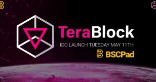 TeraBlock will launch its initial DEX offering on BSCPad on May 11