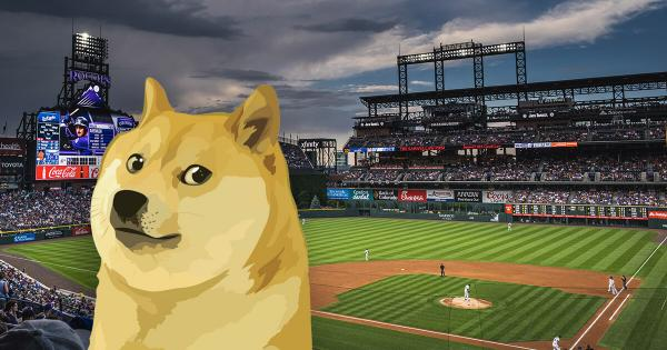 DOGE pumps 14% as American baseball team announces Dogecoin plans
