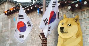Dogecoin volumes in Korea exceeded those of its entire stock market yesterday