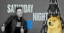 Dogecoin (DOGE) falls 25% after Elon Musk's Saturday Night Live appearance