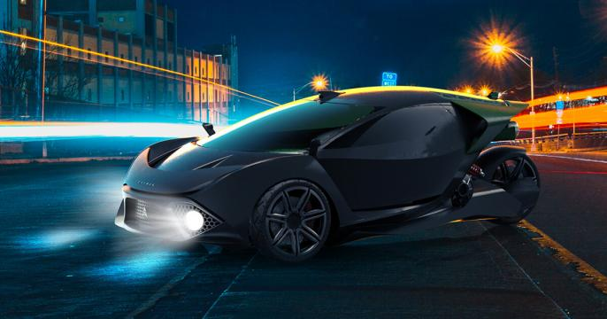New electric car 'Spiritus' will mine Dogecoin and Bitcoin while parked