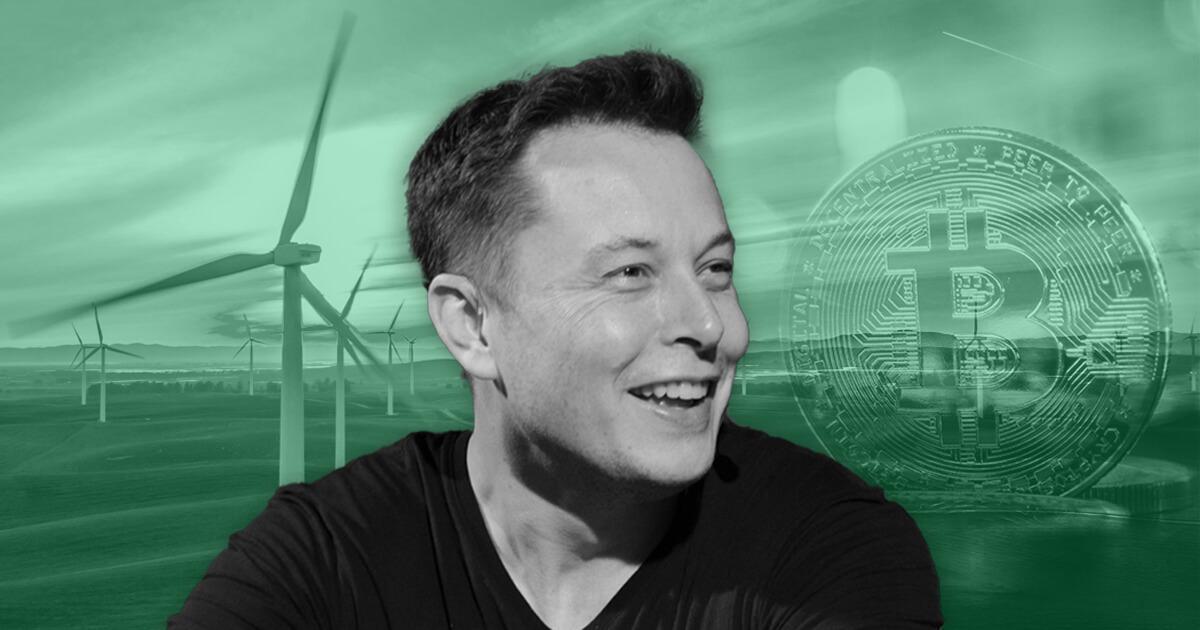 Elon Musk says Tesla will resume Bitcoin acceptance if majority of miners go 'green'
