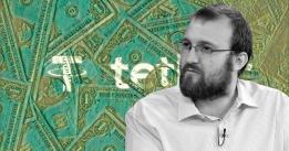 """Cardano's Charles Hoskinson says Tether is a """"faith based"""" crypto"""