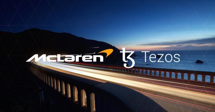 McLaren Racing signs Tezos as blockchain and NFT partner