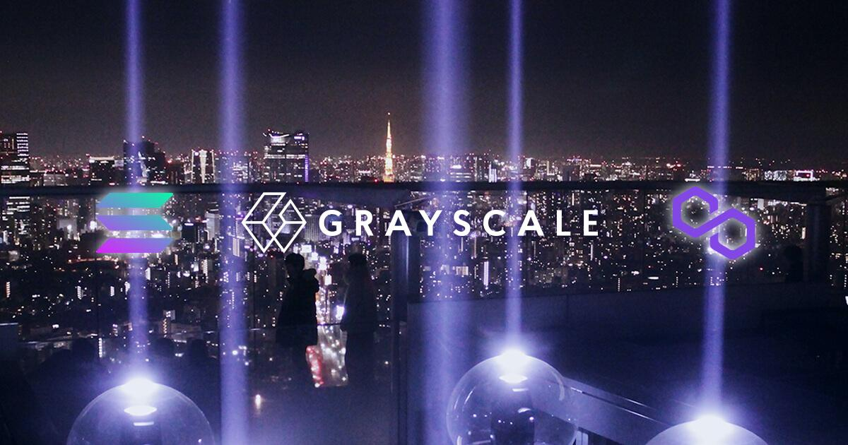 Grayscale Investments consider new crypto trusts, including Polygon and Solana