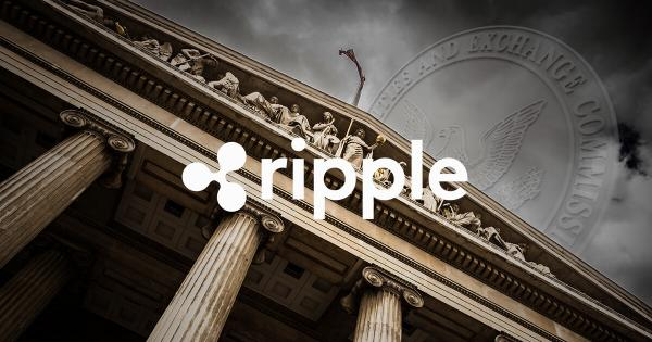 Ripple (XRP) founder slams US SEC over its crypto 'clarity'