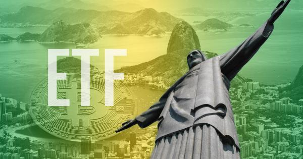A Bitcoin ETF is now trading on the Brazilian stock exchange
