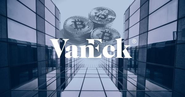 ETF firm VanEck files Bitcoin 'mutual fund' with the US SEC