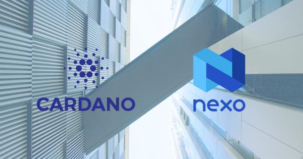 Cardano (ADA) partners with crypto lending player Nexo