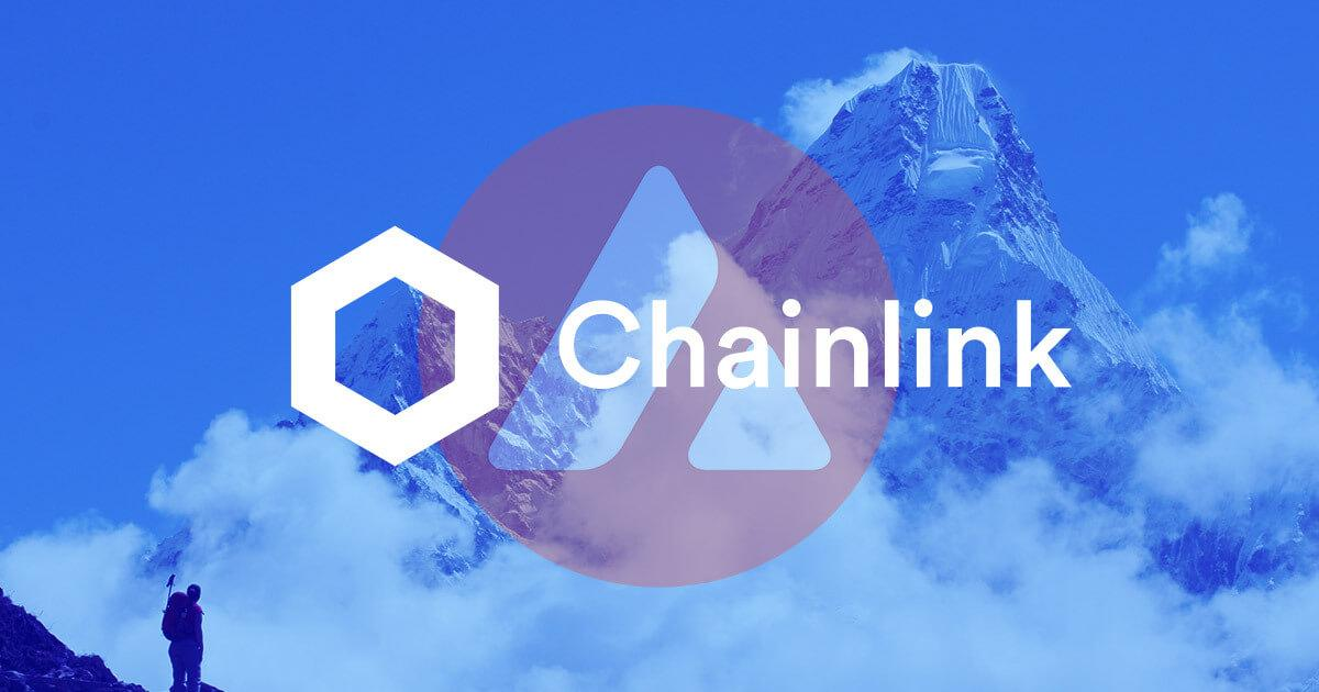 Chainlink (LINK) price feeds are now live on Avalanche