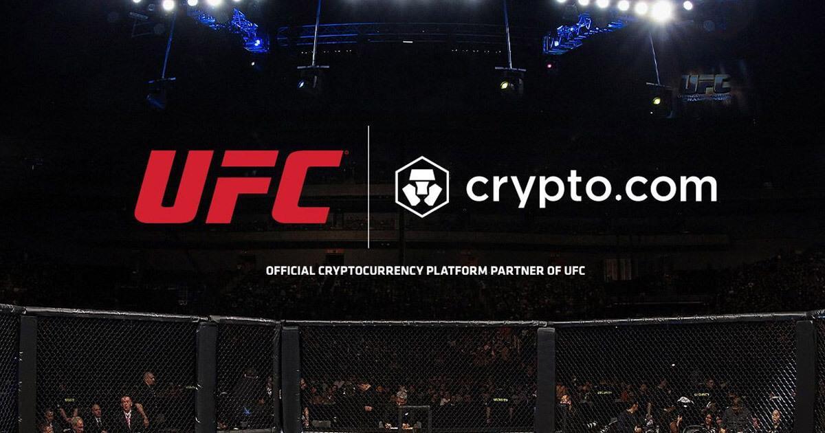 Crypto.com becomes the UFC's first official crypto platform partner
