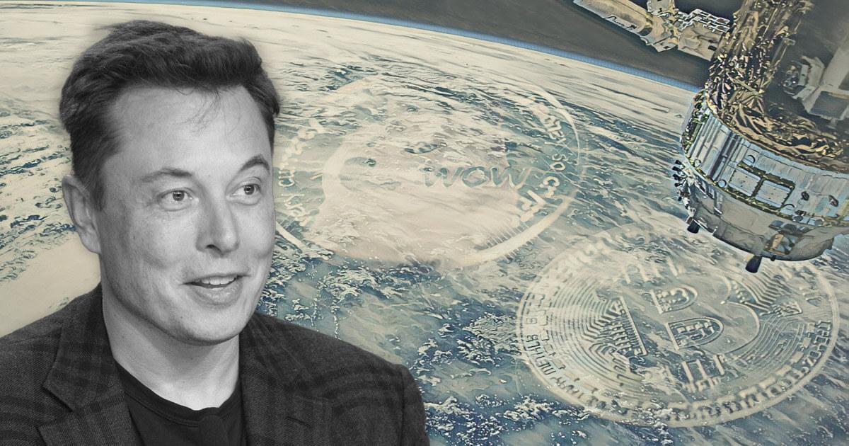 Elon Musk fancies running a Dogecoin node in space (and teases Tesla's Bitcoin adoption)