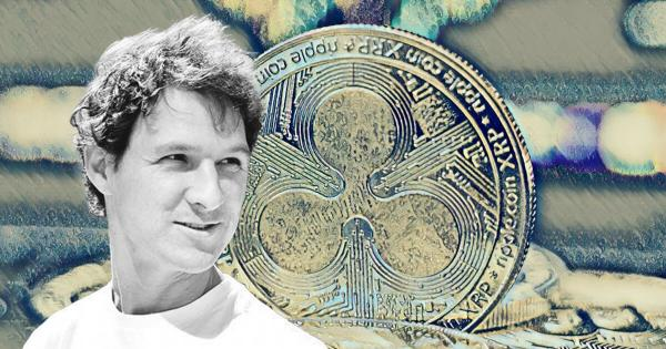 Jed McCaleb sold over 100 million XRP since the beginning of this month