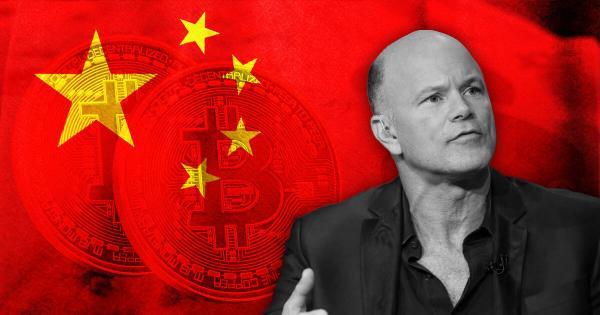 Novogratz: China's Bitcoin (BTC) ban was a positive in many ways