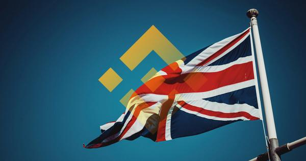 Binance woes continue as UK watchdog warns of failure to comply
