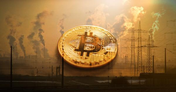 Economist claims a $500,000 Bitcoin would be disastrous for CO2 emissions