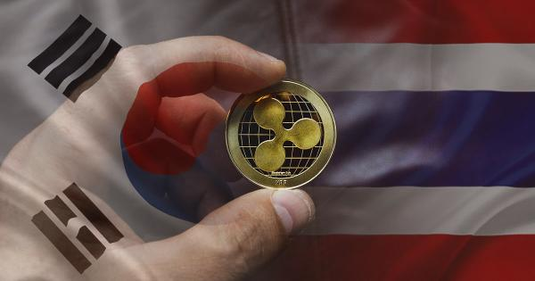 Ripple (XRP) will now scale remittances between Korea and Thailand