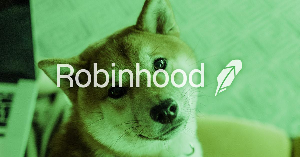 How the Shiba Inu frenzy meant big growth for Robinhood