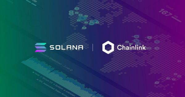 Chainlink Price Feeds are now live on the Solana devnet