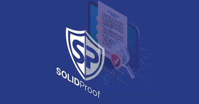 SolidProof: The First Service Provider of KYC and Auditing for Smart Contracts