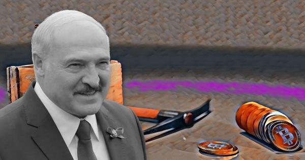 Belarus president calls on citizens to mine crypto