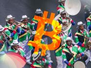 47% of South Africans own Bitcoin (BTC), holding $70 worth on average