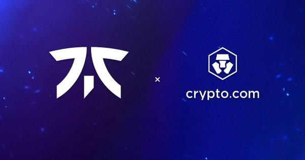 Crypto.com inks multimillion crypto and NFT deal with esports giant FNATIC