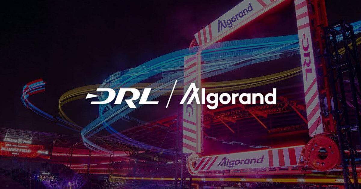 Top drone racing league taps Algorand (ALGO) for crypto, NFT initiatives