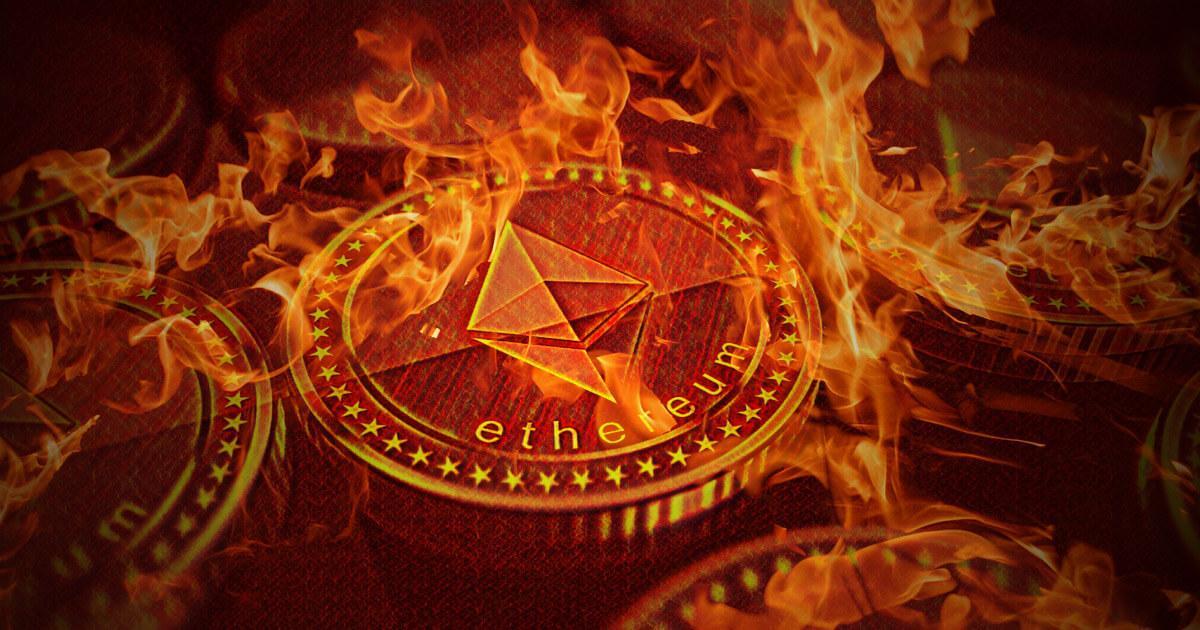 Over $1 billion worth of Ethereum (ETH) now burned after EIP-1559 update