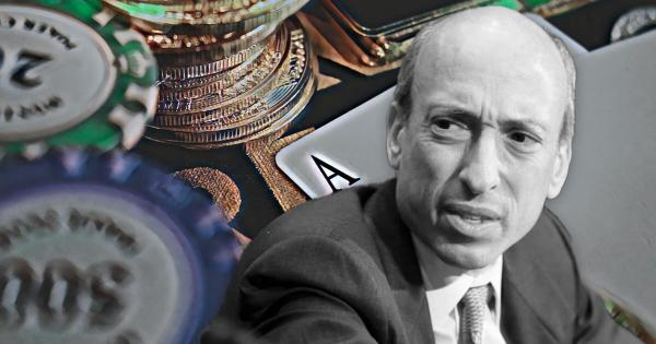 SEC chair Gary Gensler says stablecoins are like 'casino chips'