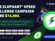 """iSwap and Mdex Launch the """"Cute Elephant"""" Speed Challenge to Give Users a Chance at a 10,000 x Return in Rewards"""