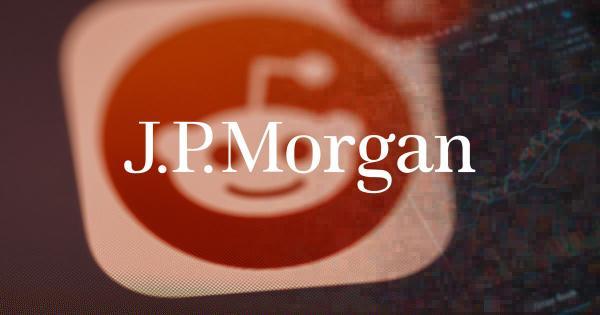 JPMorgan blames Reddit traders for 'frothy' crypto, NFT markets