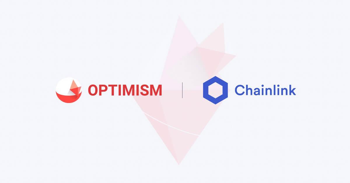 Chainlink Price feeds are now live on Optimistic Ethereum for scalable DeFi development