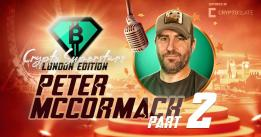 Bitcoiner Peter McCormack discusses the 'problem with ETH' and why he doesn't bother with 'shitcoins'